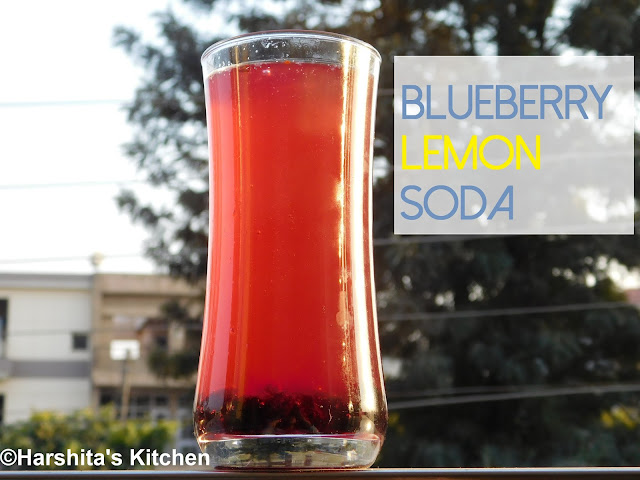 blueberry lemon soda recipe