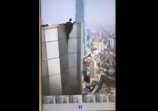 Homem filma a própria morte em queda de prédio