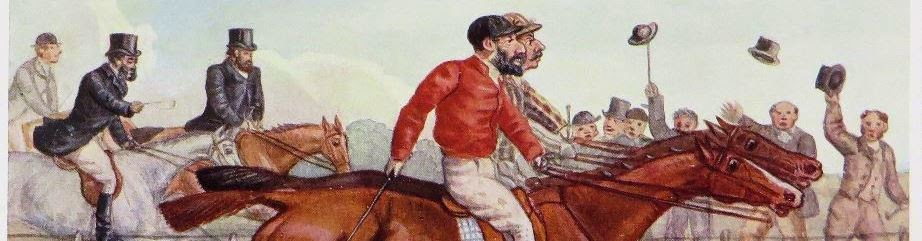 Portrait Sketches of Cheshire Hunting Men