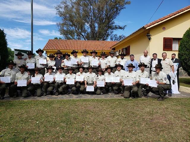 Nuevos Guardaparques Nacionales para las áreas protegidas de la Argentina