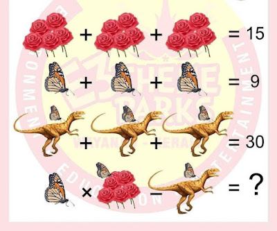 Rose Dinosaur Butterfly Puzzle