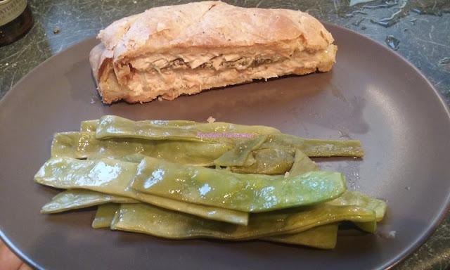 Salmone in crosta alla senape