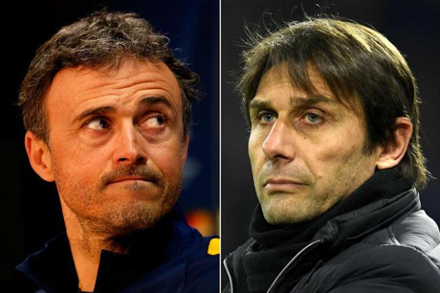 Conte nghi bị học trò Chelsea phản: Rộ tin Enrique lên thay đấu Barca 1