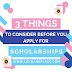 Scholarships for college students