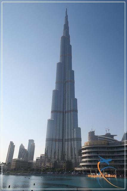 Burj Khalifa, o prédio mais alto do mundo