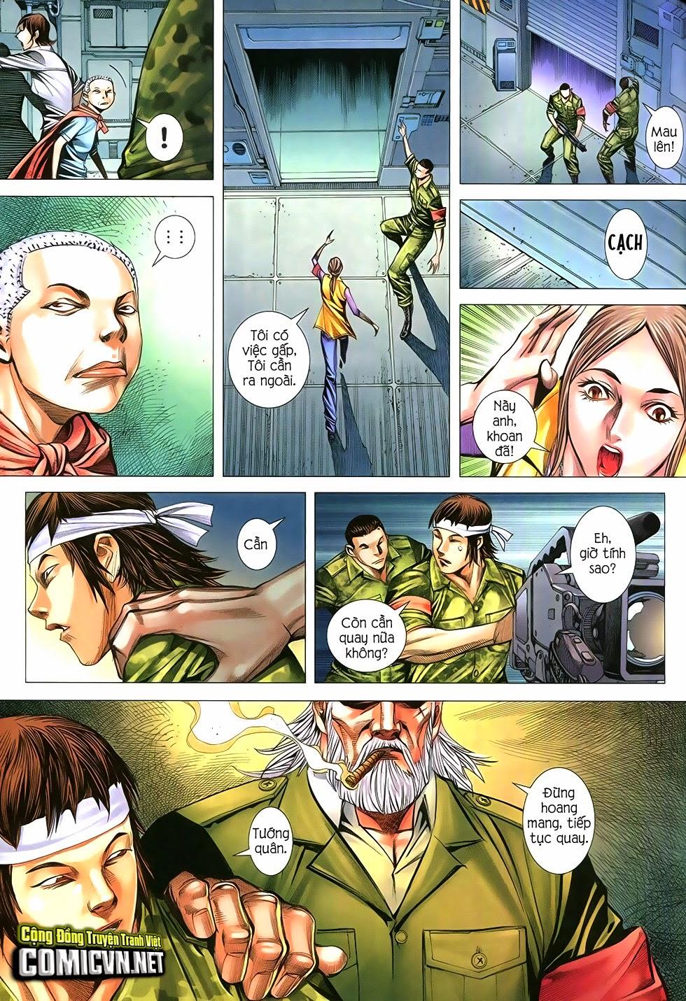 Đại Quân Phiệt chap 12 trang 25