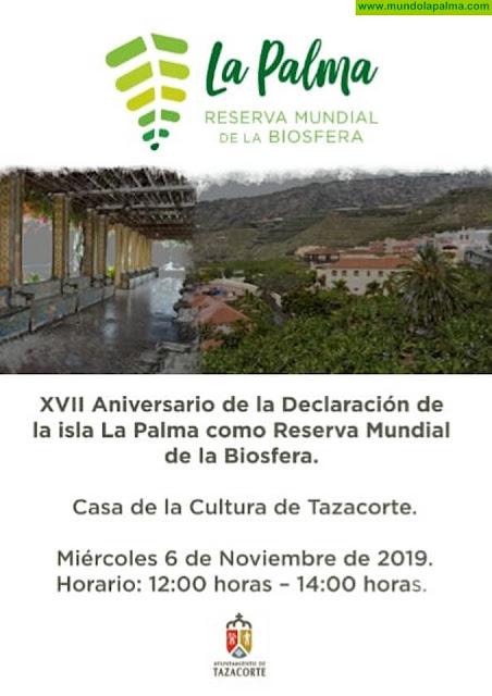 XVII Aniversario de La Declaración de la isla de La Palma como Reserva Mundial de La Biosfera