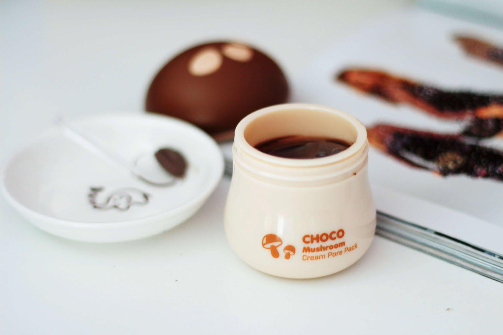 tonyMoly Choco Mushroom Cream Pore Pack review