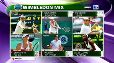 Wimbledon TV Schedule