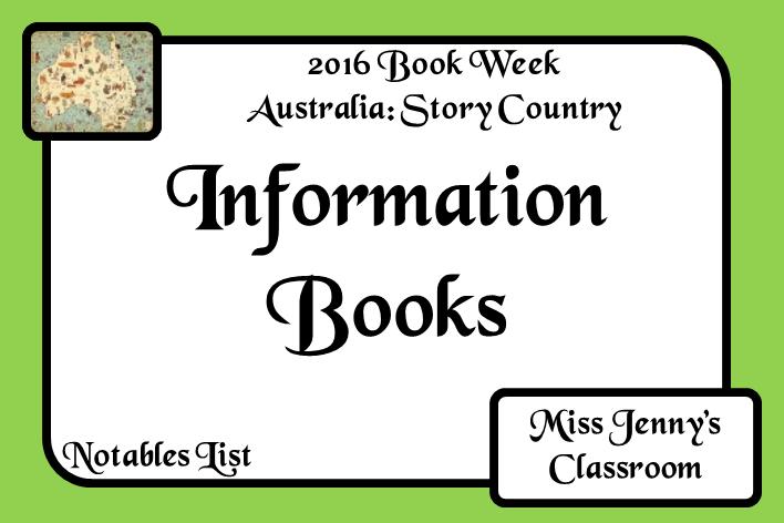 Book Week 2016: Information Books