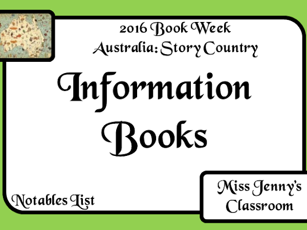 Book Week 2016: Information Books