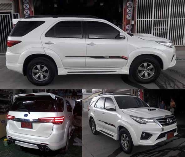 Modifikasi Toyota Fortuner Lebih Fresh dengan All New