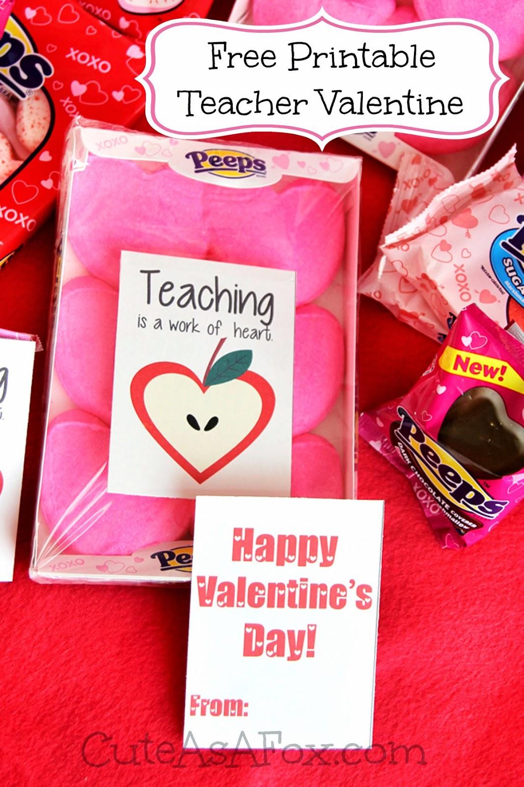 teaching is a work of heart  teacher valentines