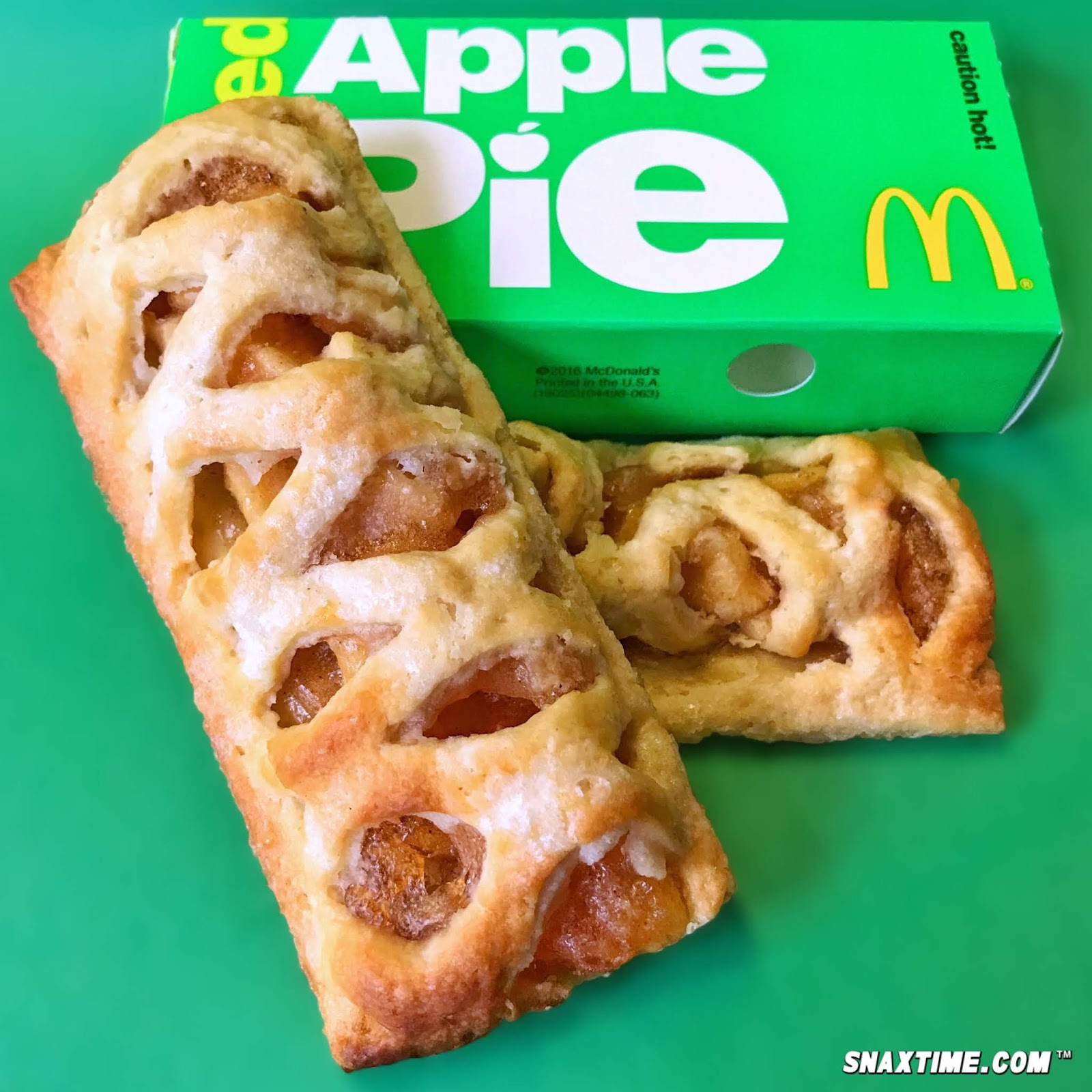 McDonalds First Started Testing A New Apple Pie Recipe In 2016 But Now The Upgrade Is Available Nationwide For This Version Of Definitive American