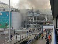 Hot !! Video Detik Detik Letupan BOM ISIS di Brussels