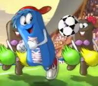 Campanha da Nestlé para promoção do Milkybar com temática da Copa do Mundo (França) em 1998.