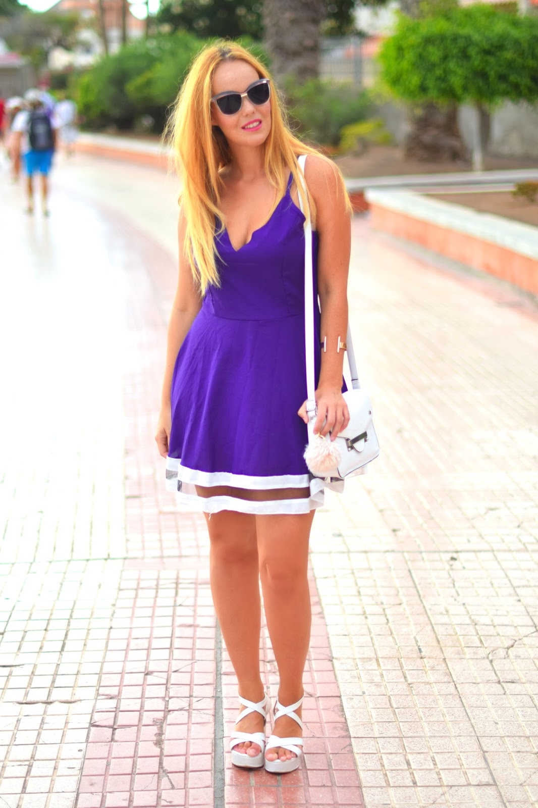 nery hdez, znu , zerouv, dress, blonde , Sammydress, blondedge
