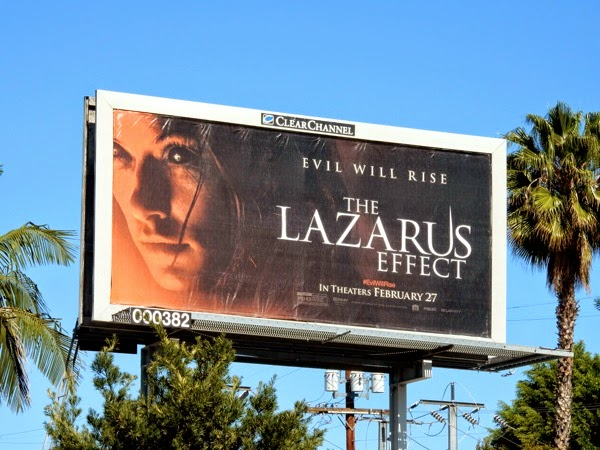 Lazarus Effect movie billboard