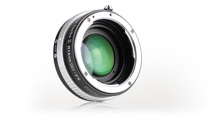 Адаптер Zhongyi Mitakon Lens Turbo II N / G-FX для камер Fujifilm X