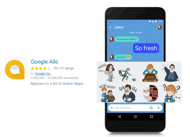 Google Released Google Allo v3.0 Update For All Android Users