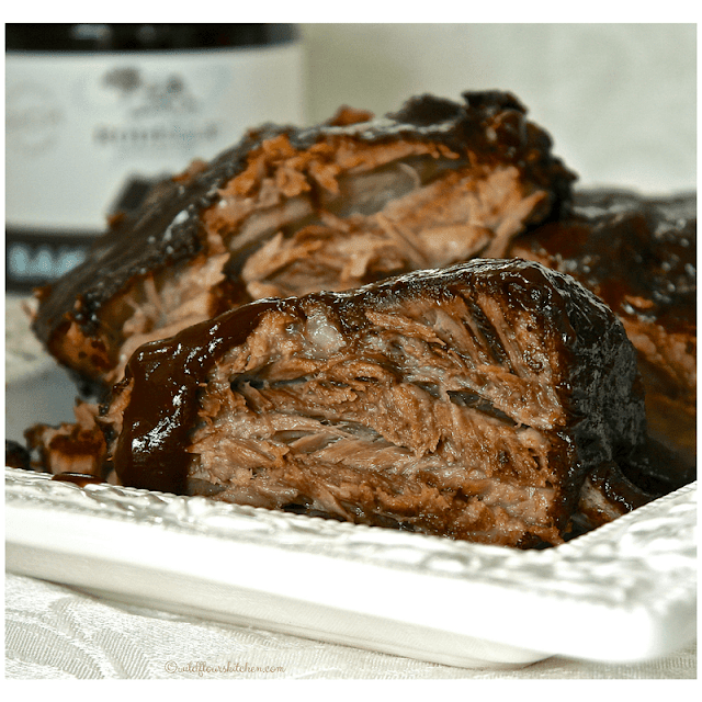 Chocolate Chipotle Barbecued Ribs
