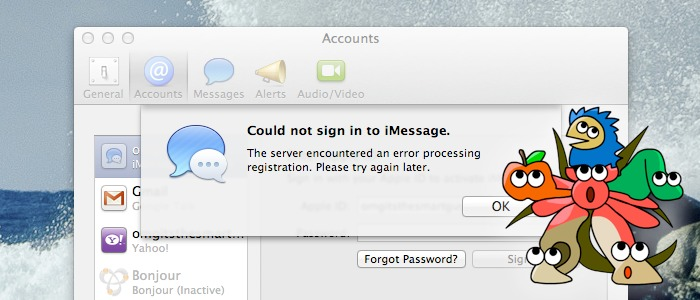 How to fix the iMessage login problem on your Hackintosh