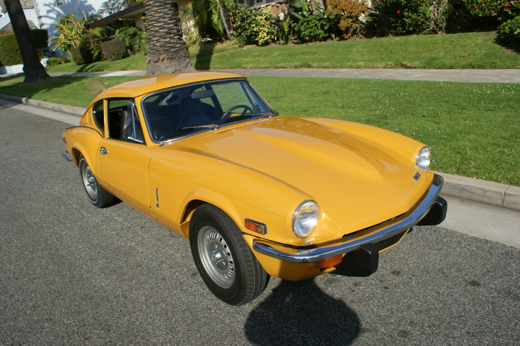 Triumph Engine And Gearbox Rebuild 1971 Triumph Gt6 Engine And