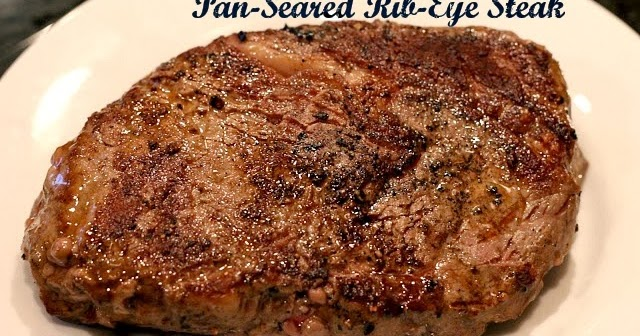 Champagne Amp Mason Jars Recipe Pan Seared Rib Eye Steak