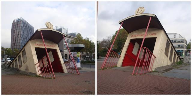 estação Bockenheimer Warte Frankfurt