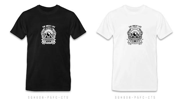 SGH008-P5FC-CTS Graphic T Shirt Design, Custom T Shirt Printing