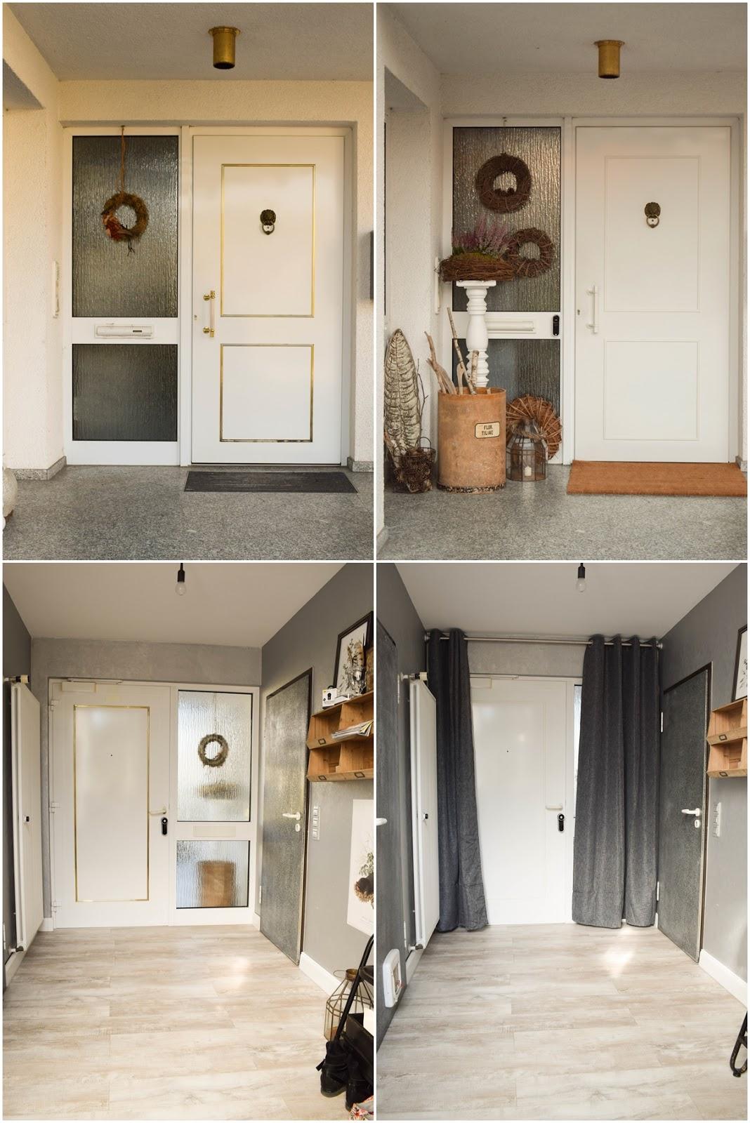 Yale Entr Smartlock: smartes Türschloss für Haustüre. Renovierung Schliesssystem und intelligente Schliessloesung. Smart Home Ideen. Renovierung Tür, Eingang, Diele. Vorher Nachher
