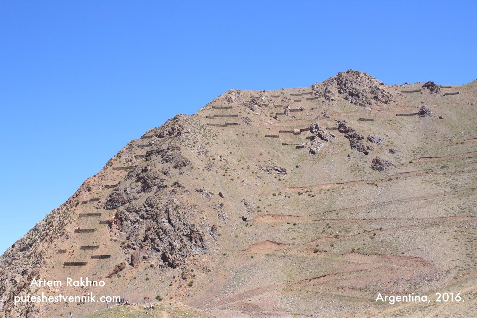 Горы в Аргентине