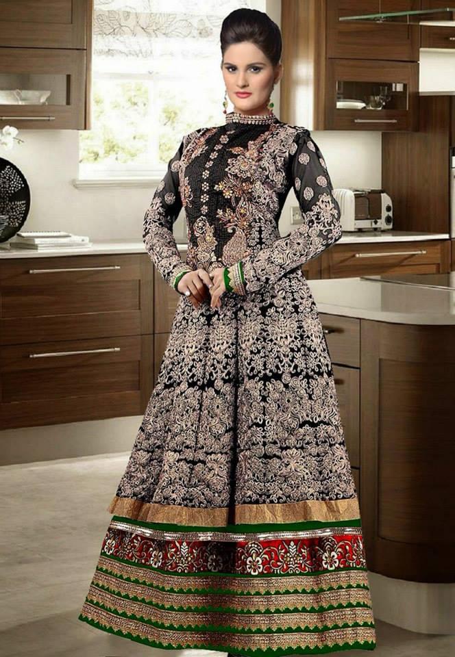 b06656295 Utsav Fancy Pakistani Eid Dresses For Girls - Paki Dress Designs