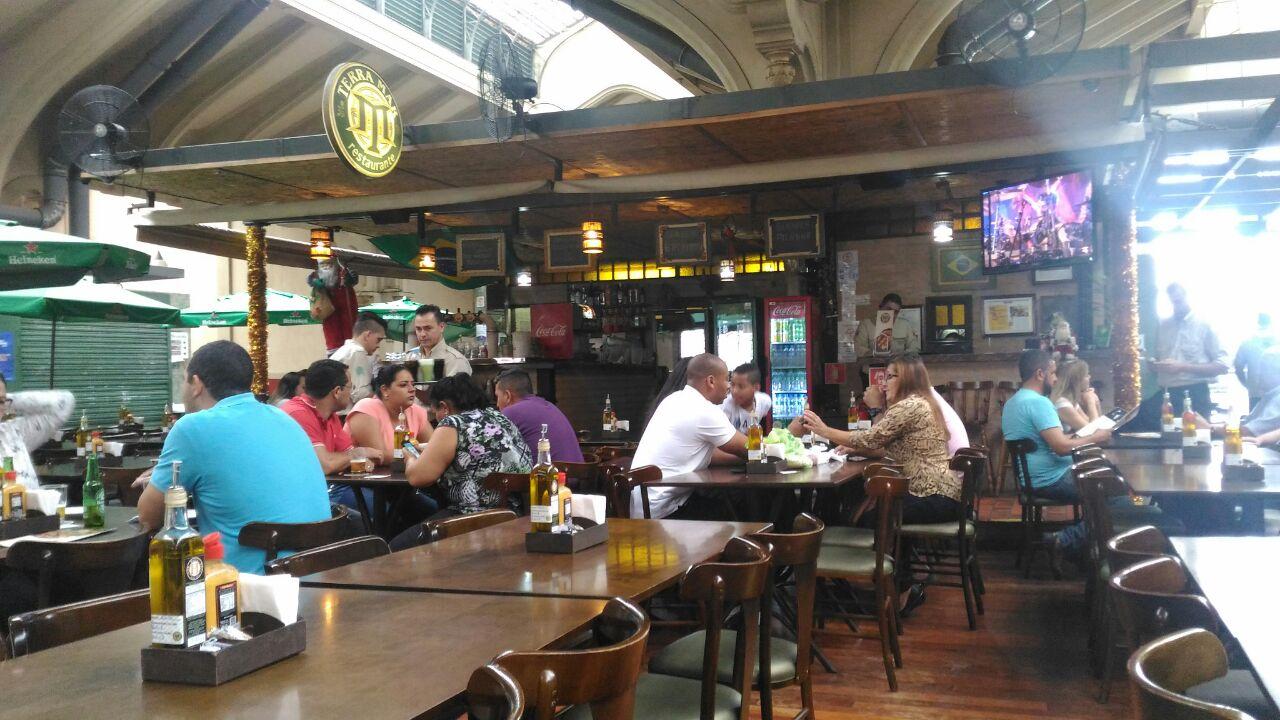 restaurantes mercado municipal sp