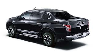 Mitsubishi L200/Triton black
