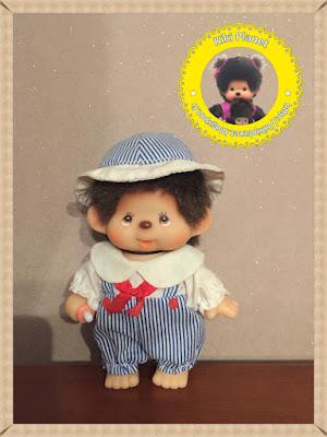 petit kiki le vrai articulé les petit marin garçon collection vintage yeux bleu monchhichi jouet ancien rare neuf beau