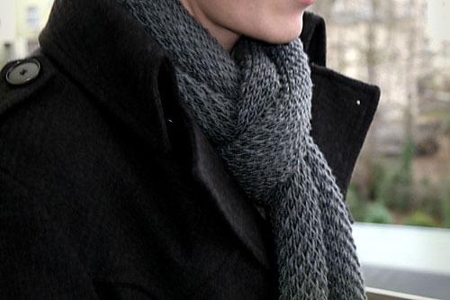 Herrenschal stricken – das perfekte Geschenk
