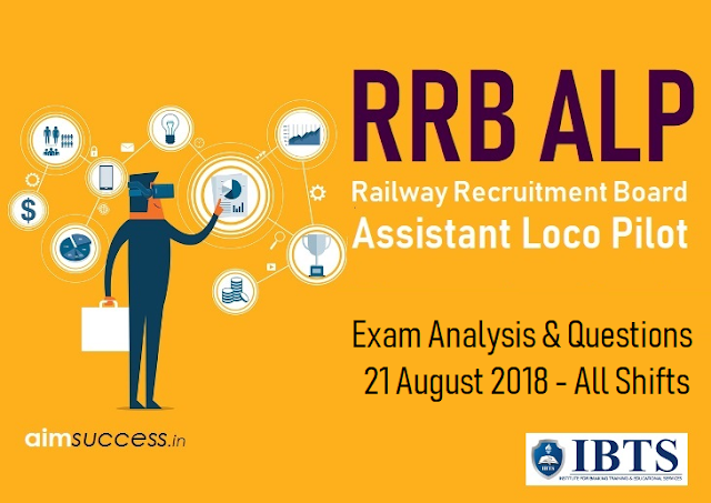 IBPS RRB ALP Exam Analysis & Questions Asked 21 August 2018 - All Shifts
