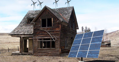 Increase Home Efficiency Before Considering Wind or Solar