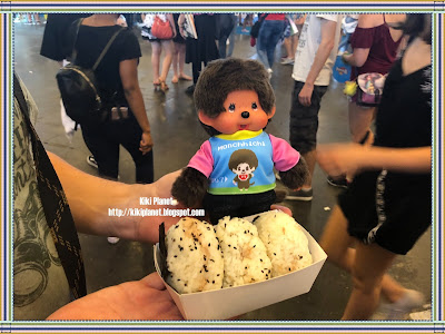 monchhichi kiki japan expo 2018 cosplayer nigiri japon cuisine