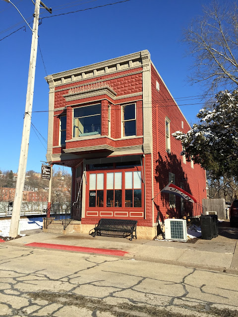 Otto's Place is in a lovely historic building footsteps from the Galena River.