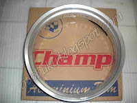 Gambar / Photos / Foto Velg Champ Silver