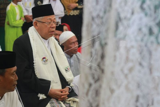 Ma'ruf Amin Minta Jangan Pakai Istilah 'Genderuwo', BPN: Nyindir Jokowi?