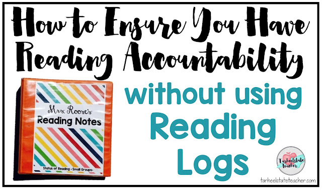 Read about two changes to my independent reading routine that made all the difference last year...do you want accountability without the hassle (and often waste) of reading logs? There's a better way and you can learn all about it here!
