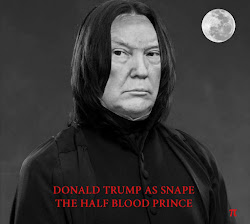 DONALD TRUMP AS SNAPE THE HALFBLOOD PRINCE