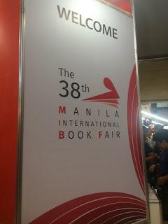 Manila International Book Fair MIBF 2017 Welcome banner