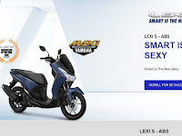 Perbedaan Yamaha Lexi Lama Dan Versi Baru, Pake Ini Ternyata