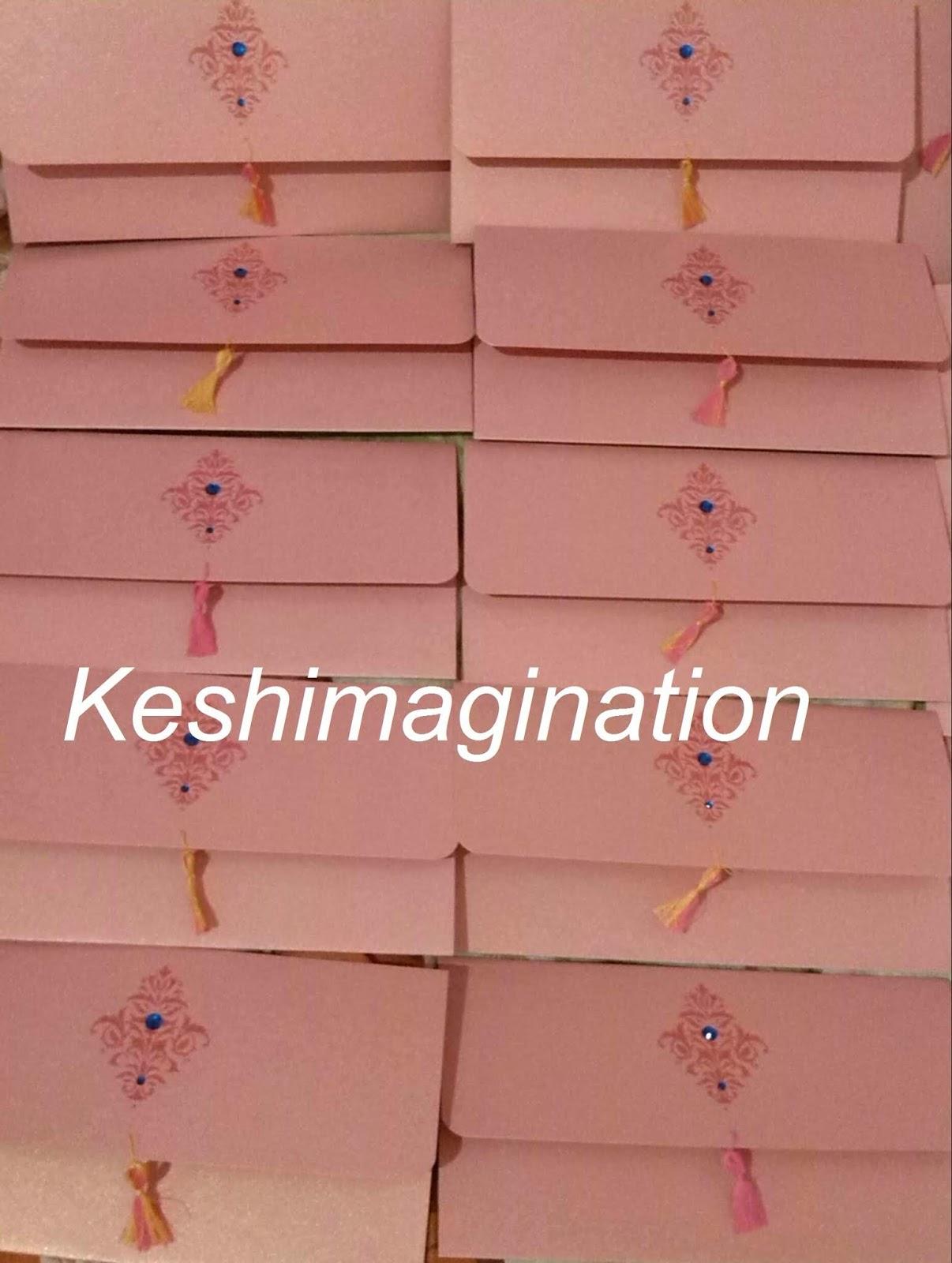 Keshimagination: DIY Wedding Invitation cards