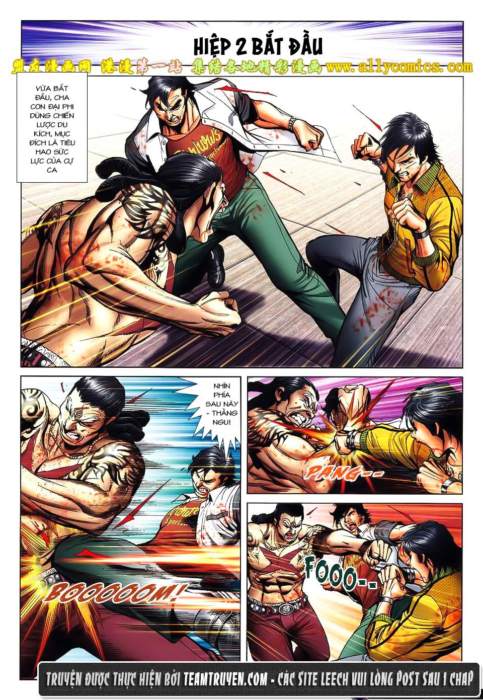 Người Trong Giang Hồ NetTruyen chap 1554 - Trang 10