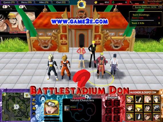 Battle stadium d. O. N gameplay [ps2/gamecube] youtube.